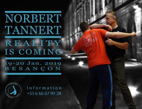 (Français) Stage avec Norbert Tannert du 19 au 20 janvier 2019